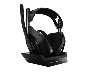 939-001676 - Astro A50 Wireless + Base Station 4th gen PS4/PC edition - Sort
