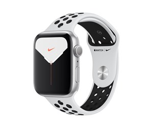 MX3V2DH/A - Apple Watch Nike Series 5 (GPS) 44mm Silver Aluminium Case with Pure Platinum/Black Nike Sport Band