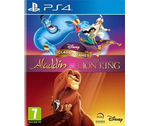 5060146468459 - Disney Classic Games: Aladdin and the Lion King - Sony PlayStation 4 - Platformer