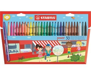 280/30-01 - STABILO POWER medium fibre-tip pen cap off time 8 weeks for the youngest children