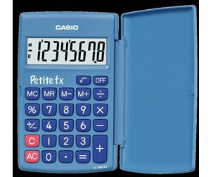 LC-401LV-BU-S-EH - CASIO LC401LV simpel calculator with basic funktions