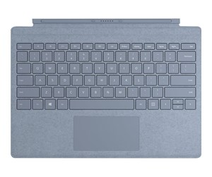 FFQ-00129 - Microsoft *DEMO* Surface Pro Signature Type Cover - keyboard - with trackpad - Danish/Finnish/Norwegian/Swedish - ice blue - Tastatur - Nordisk - Blå