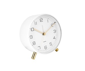 KA5752WH - Karlsson Alarm clock Lofty matt white