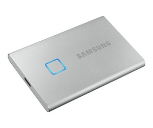MU-PC1T0S/WW - Samsung Portable SSD T7 Touch - Silver - 1TB