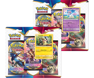 POK80655 - Pokemon 3-pack booster - Sword and Shield