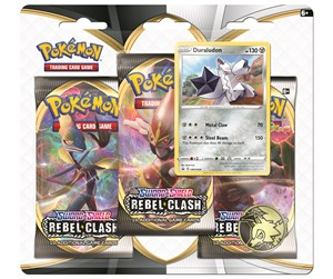 POK80685 - Pokemon 3-pack booster - Sword & Shield Rebel Clash