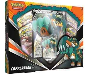 POK80711 - Pokemon Copperajah V Box - Sword & Shield Rebel Clash