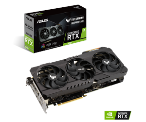 90YV0FD0-M0NM00 - ASUS GeForce RTX 3090 TUF - 24GB GDDR6X RAM - Grafikkort