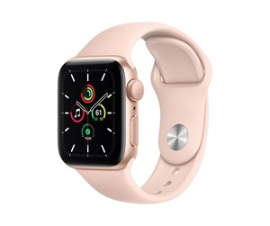 MYDN2DH/A - Apple Watch SE GPS 40mm Gold Aluminium Case with Pink Sand Sport Band