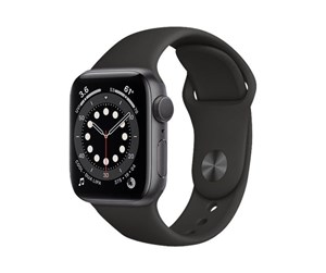 MG133DH/A - Apple Watch Series 6 GPS 40mm Space Gray Aluminium Case with Black Sport Band