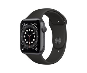 M00H3DH/A - Apple Watch Series 6 GPS 44mm Space Gray Aluminium Case with Black Sport Band