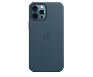 MHKK3ZM/A - Apple iPhone 12 Pro Max Leather Case with MagSafe - Baltic Blue