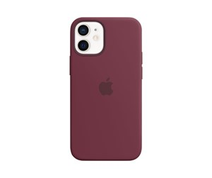 MHKQ3ZM/A - Apple iPhone 12 mini Silicone Case with MagSafe - Plum