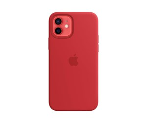 MHL63ZM/A - Apple iPhone 12 | 12 Pro Silicone Case with MagSafe - (PRODUCT)RED