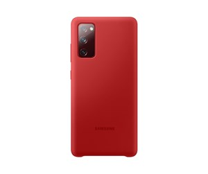 EF-PG780TREGEU - Samsung Galaxy S20 FE - Silicone Cover - Red
