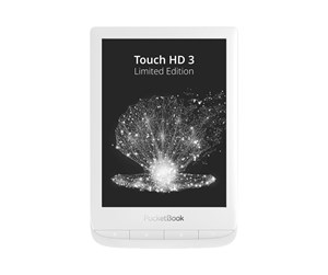 PB632-W-GE-WW - PocketBook Touch HD 3 - Limited Edition - eBook reader - Linux 3.10.65 - 16 GB - 6""