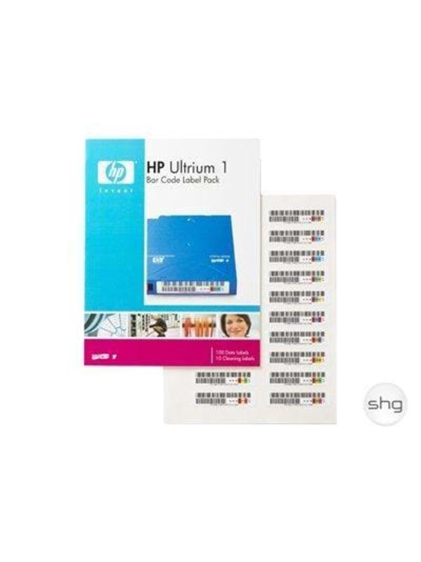 Image of   HP Data Cart/SDLT Bar Code Label pk