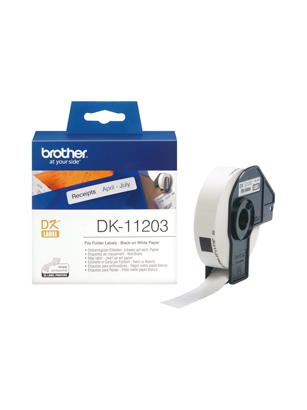 Brother Thermal Paper Labels 17x87mm