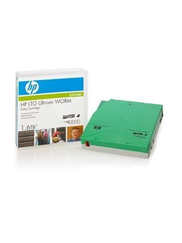 Image of   HP LTO4 Ultrium 1.6TB WORM Data Cartri