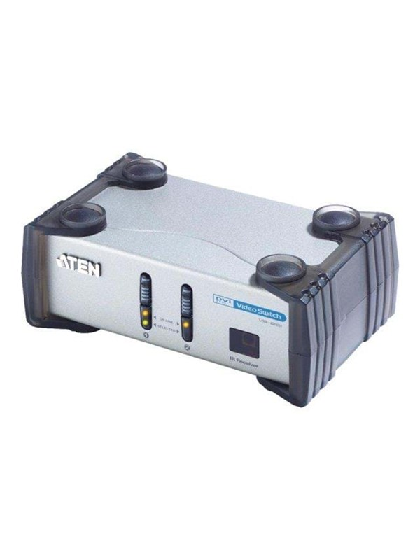 Image of   ATEN DVI+Audio Switch - 2 ports