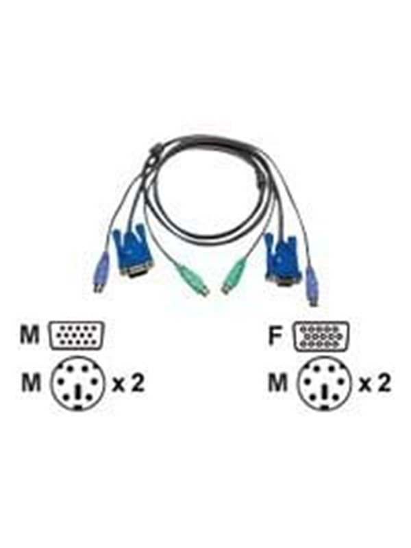 Image of   ATEN Micro-Lite? 1.8Mtr. KVM Cable