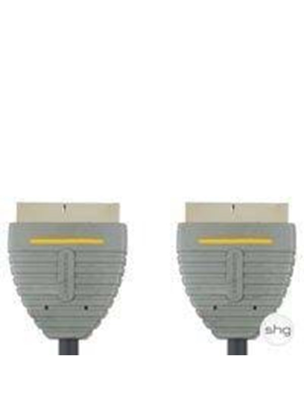 Image of   Bandridge Blue Scart Video Cable 1m