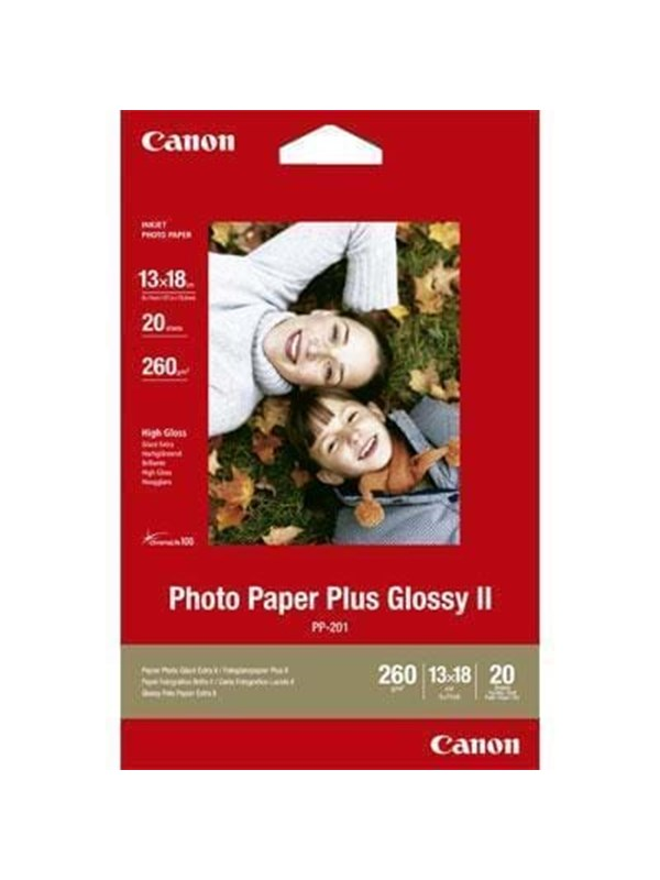 Canon Paper PP-201 Glossy 13x18cm - 20 sheets