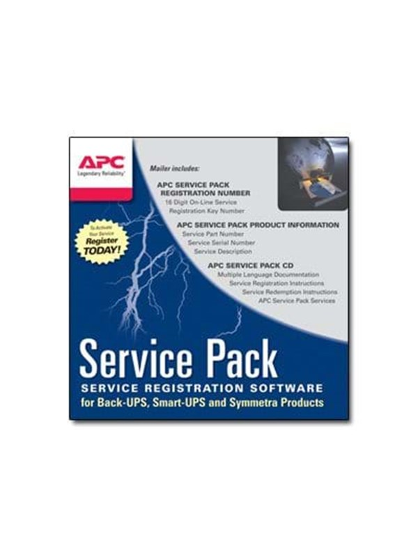 Image of   APC Warranty Ext/1Yr for SP-04