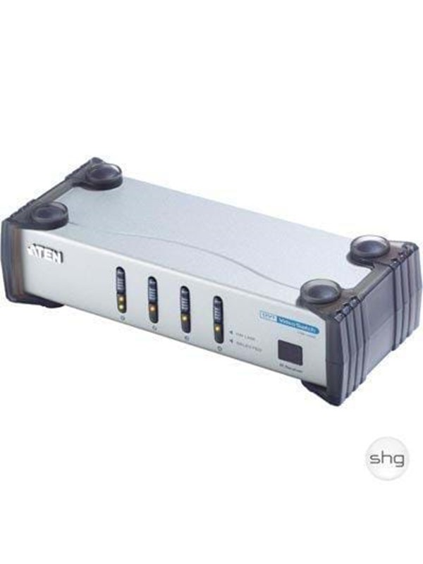 Image of   ATEN DVI-I+Audio Switch - 4 ports
