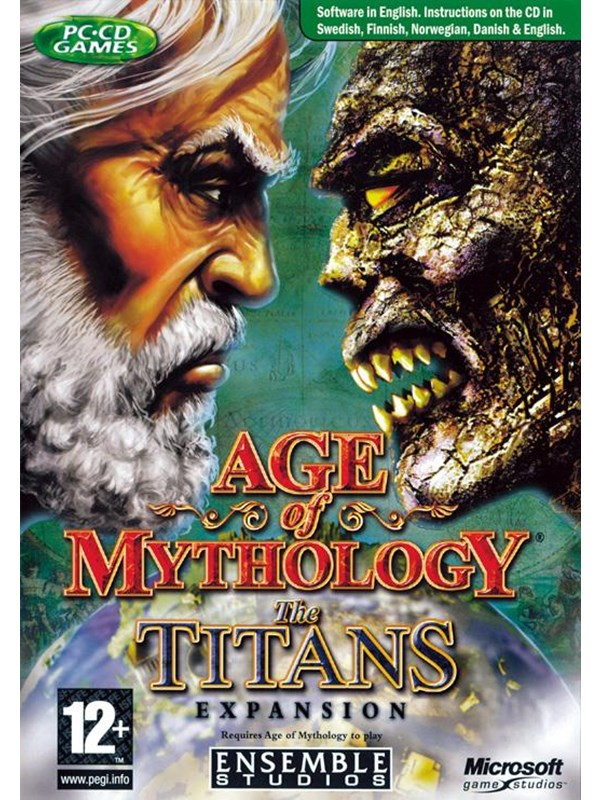 Image of   Age of Mythology Gold (Incl. Titans ) - Windows - Strategi