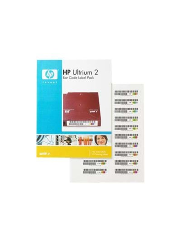 Image of   HP barcode labels Ultrium2 100BL