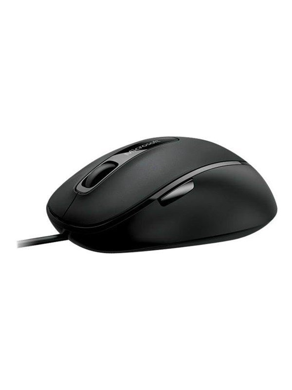 Microsoft Comfort Mouse 4500 - Black - Mus - Optisk - 5 knapper - Sort