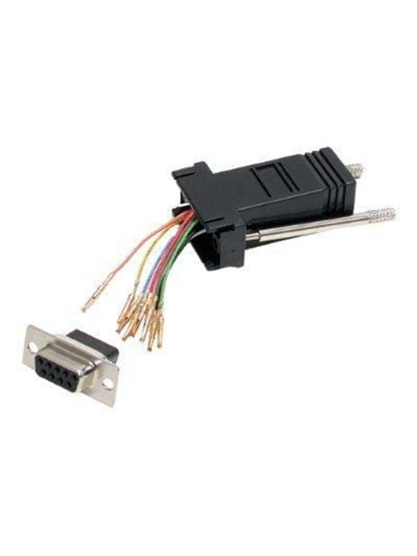 Image of   StarTech.com DB9 to RJ45 Modular Adapter