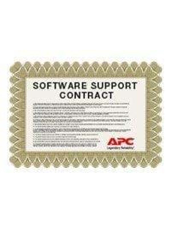 Image of   APC Extended Warranty Software Support Contract - teknisk understøtning