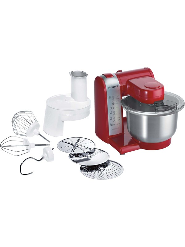 Image of   Bosch Foodprocessor MUM48R1 - Red