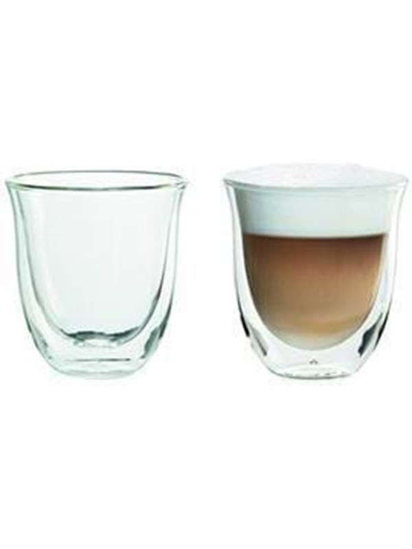 DeLonghi cappuccino glass
