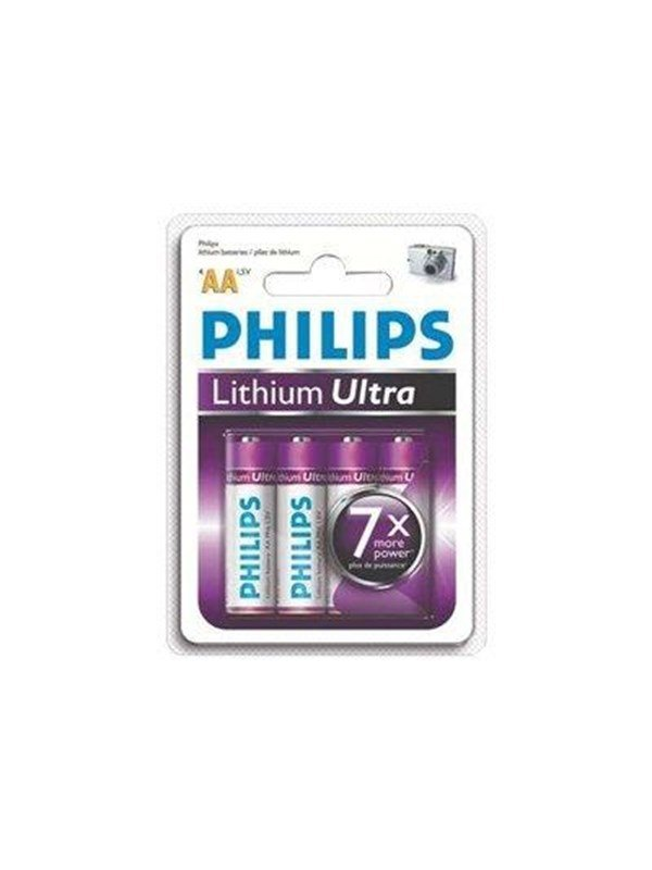 Philips Lithium Ultra FR6LB4A - batteri - AA