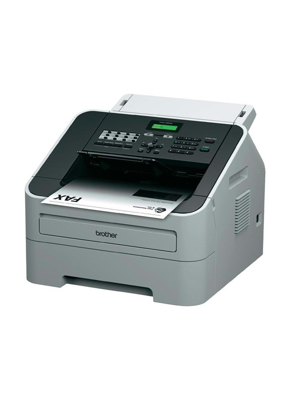 Image of   Brother FAX 2840 Laserprinter Multifunktion med Fax - Monokrom - Laser