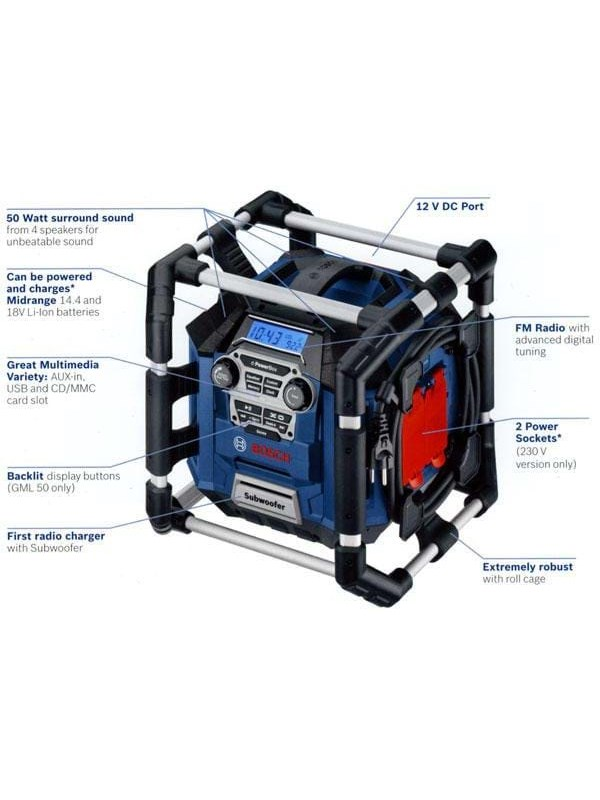 Image of   Bosch GML 50 Professional
