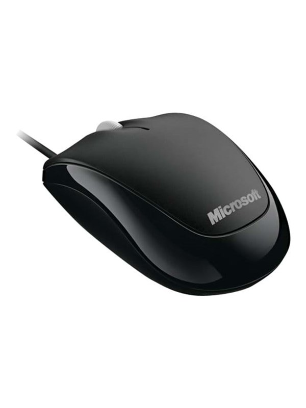 Microsoft Compact Optical Mouse 500 - Bk - Mus - Optisk - 3 knapper - Sort