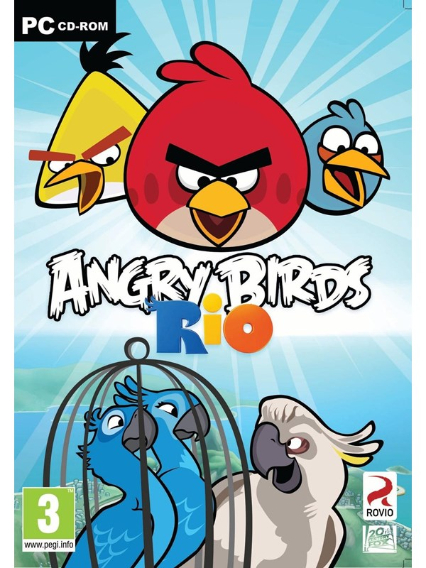 Image of   Angry Birds: Rio - Windows - Action