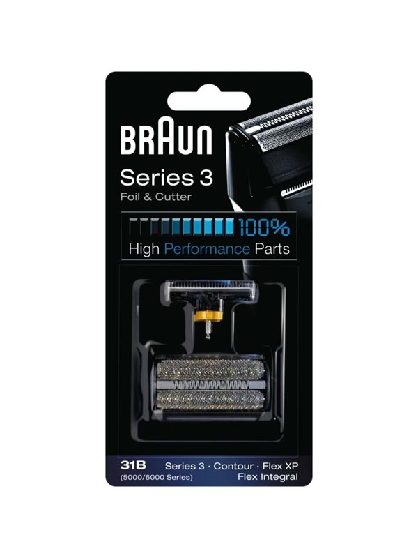 Braun Tilbehr Combipack 31S - Silver