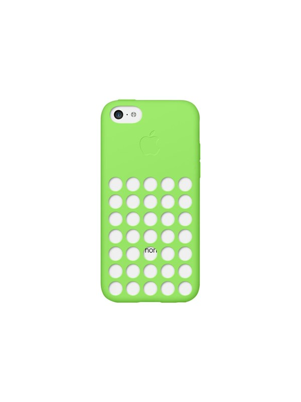 Image of   Apple iPhone 5c Silicone Case - Green