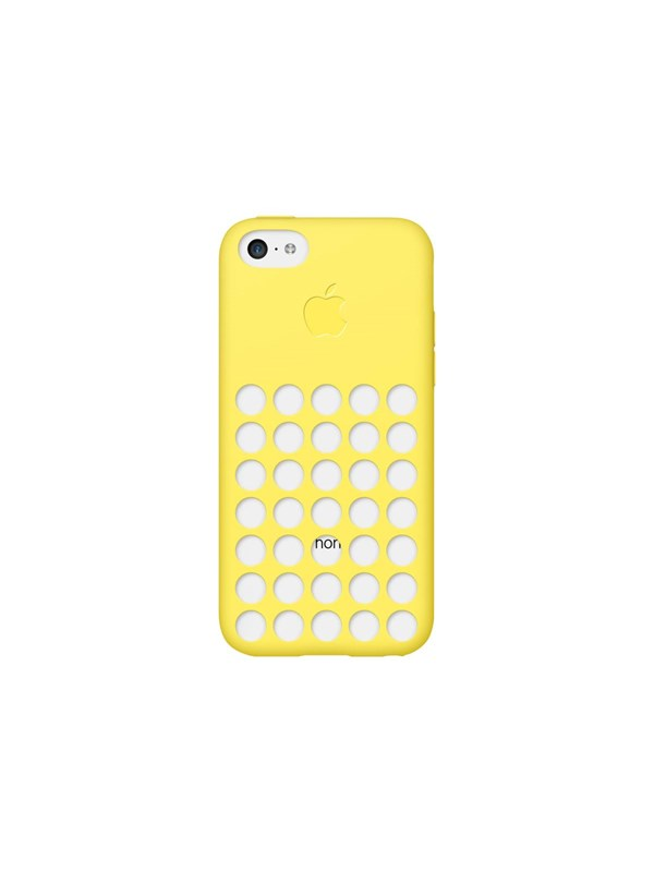 Image of   Apple iPhone 5c Silicone Case - Yellow