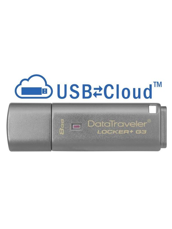 Kingston DataTraveler Locker G3 - 8GB