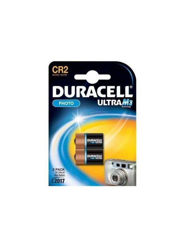 Image of   DURACELL Ultra M3 CR2