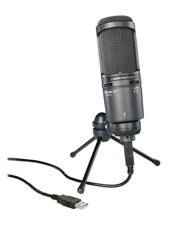 Image of   Audio-Technica AT2020 USB+ Microphone