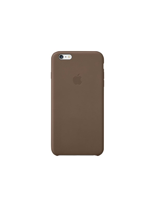 Image of   Apple iPhone 6/6s Plus Leather Case - Olive Brown