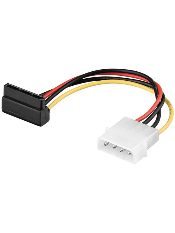 Image of   Pro SATA Power Cable - 90° - 0.13m