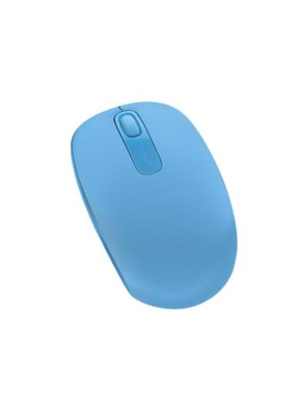 Microsoft Wireless Mobile Mouse 1850 Cya - Mus - Optisk - 3 knapper - Blå